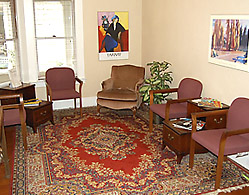 Chinn Street Counseling Center building interior